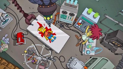 Video: Bob Patiño por fin logra matar a Bart Simpson