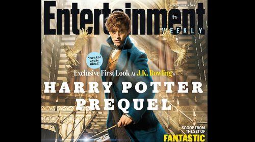 """Primera imagen de """"Animales fantásticos y dónde encontrarlos"""", precuela de Harry Potter"""