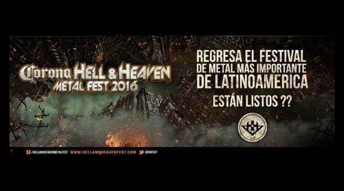 Habrá Festival Hell & Heaven en 2016, en julio
