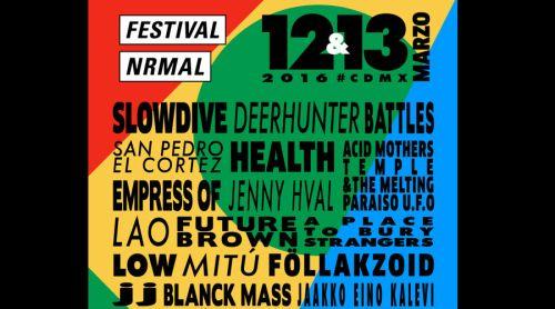 Festival Nrmal 2016: el line up y las fechas