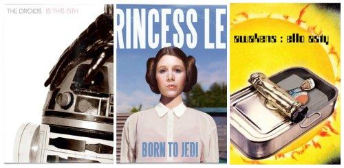 Personajes de Star Wars protagonizan portadas de discos de rock