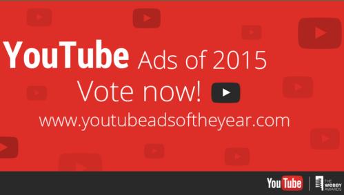 YouTube: Elige a los mejores comerciales del año