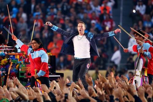 Coldplay brilla en el Super Bowl 50