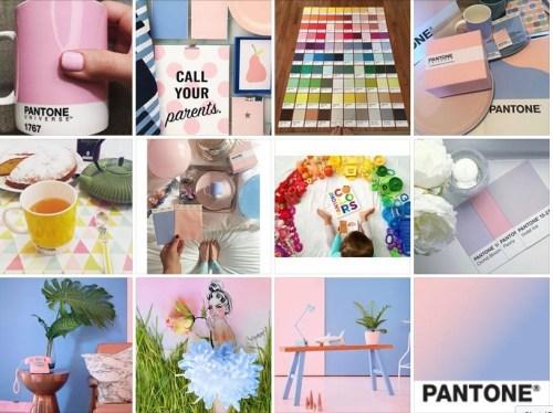 Pantone® colors of the year y las tendencias en tonos pastel 2016