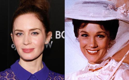 """Emily Blunt podría protagonizar la nueva secuela de """"Mary Poppins"""""""