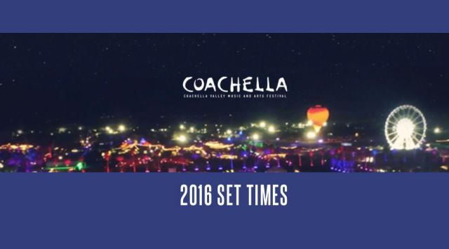 Coachella 2016: sigue aquí el streaming