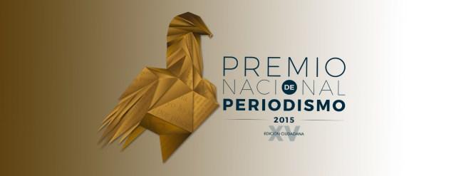 Ganadores del Premio Nacional de Periodismo 2015