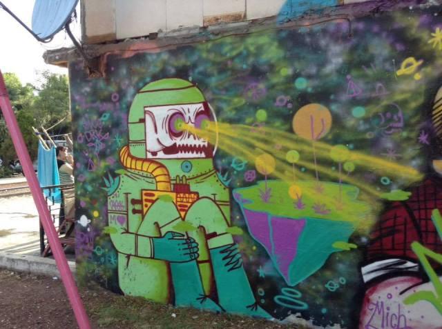 """Lo expresivo e """"ilegal"""" del graffiti y el stencil art"""