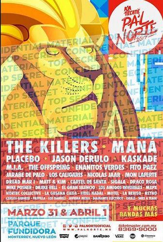 cartel Festival pal norte 2017