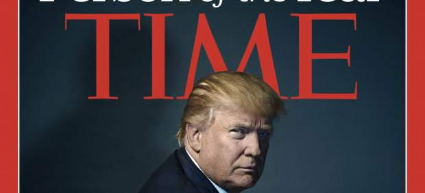 "Donald Trump, ""Persona del año"" para la revista Time"