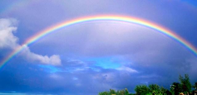 Video: los arcoíris en realidad son círculos