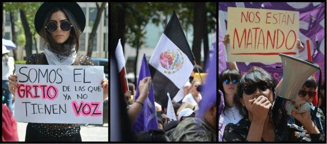 Fotos: #JusticiaParaMara, así se vivió la marcha en la CDMX