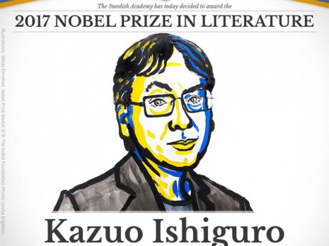 Kazuo Ishiguro gana el Nobel de Literatura