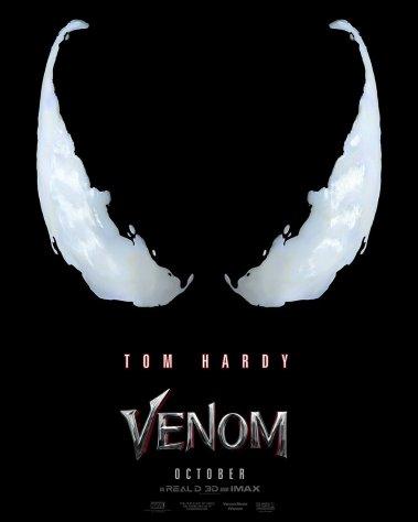 Venom: lanzan el primer póster (lo que indica que el tráiler está más cerca que nunca)