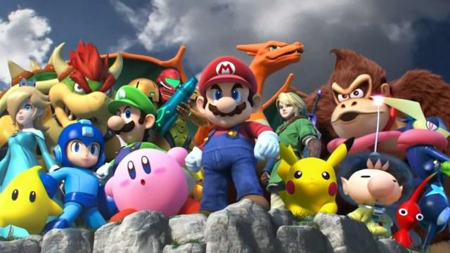 Nintendo presenta el plantel de jugadores de Super Smash Bros: Ultimate