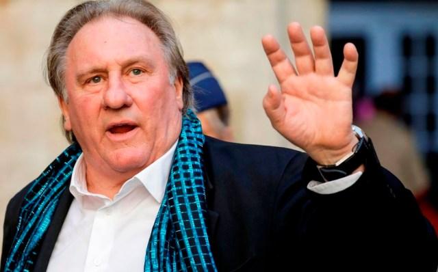 Investigan a Gérard Depardieu por violación y agresión sexual