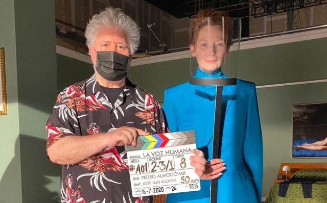 Pedro Almodóvar filma película con Tilda Swinton