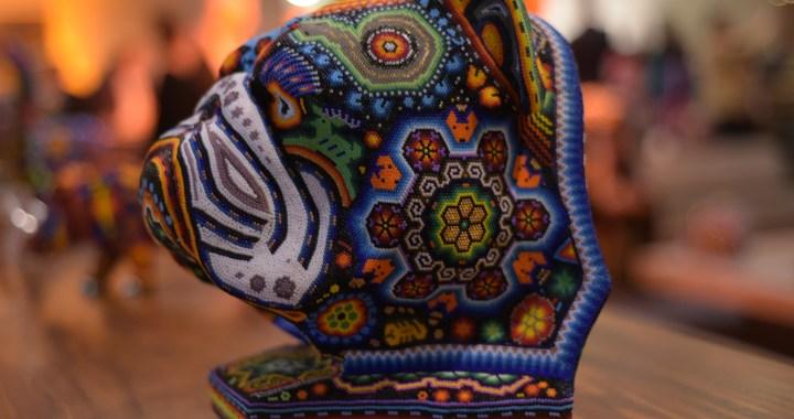 Segunda bienal de Arte Huichol en CDMX