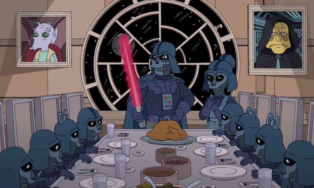 """Mañana podrás ver el primer crossover entre """"Los Simpson"""" y """"Star Wars"""", gracias al May the 4th be with you"""