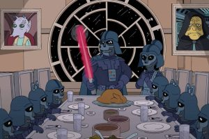 "Llega el primer crossover entre ""Los Simpson"" y ""Star Wars"", gracias al May the 4th be with you"