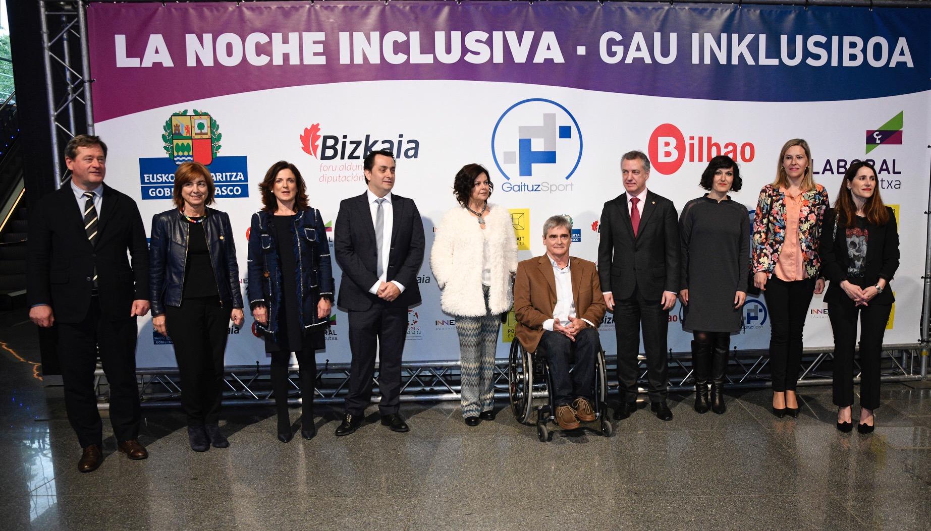 Premios GaituzSport Autoridades
