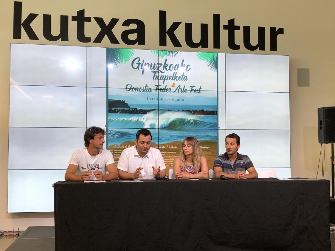 Rueda de Prensa Cameponato de Surf de Gipuzkoa inclusivo