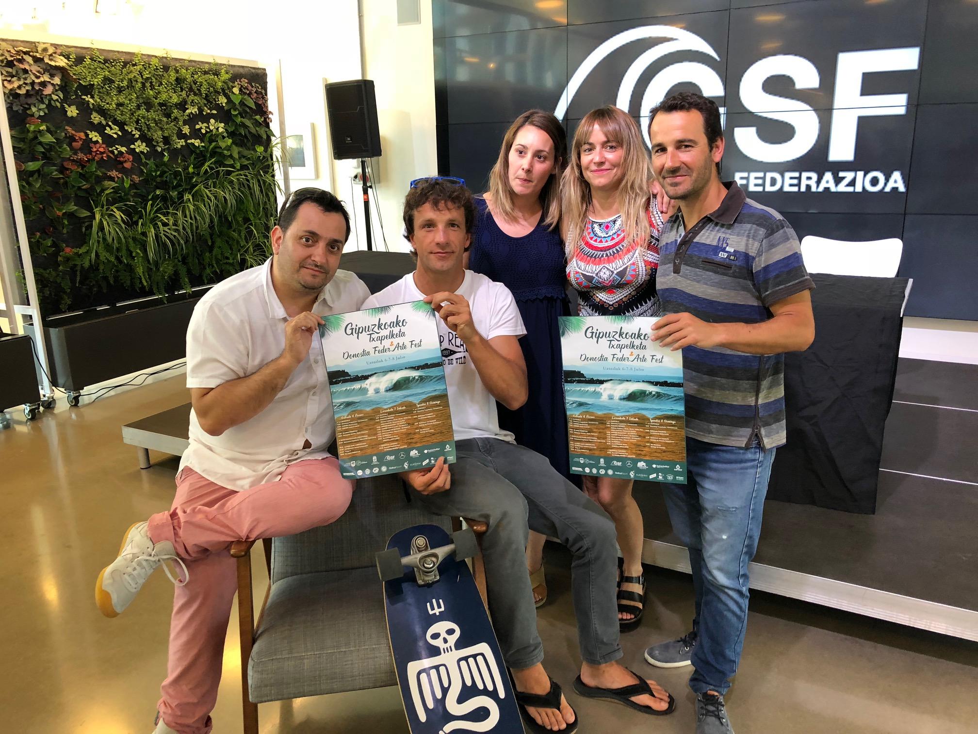 Presentación Campeonato de Surf de Gipuzkoa inclusivo