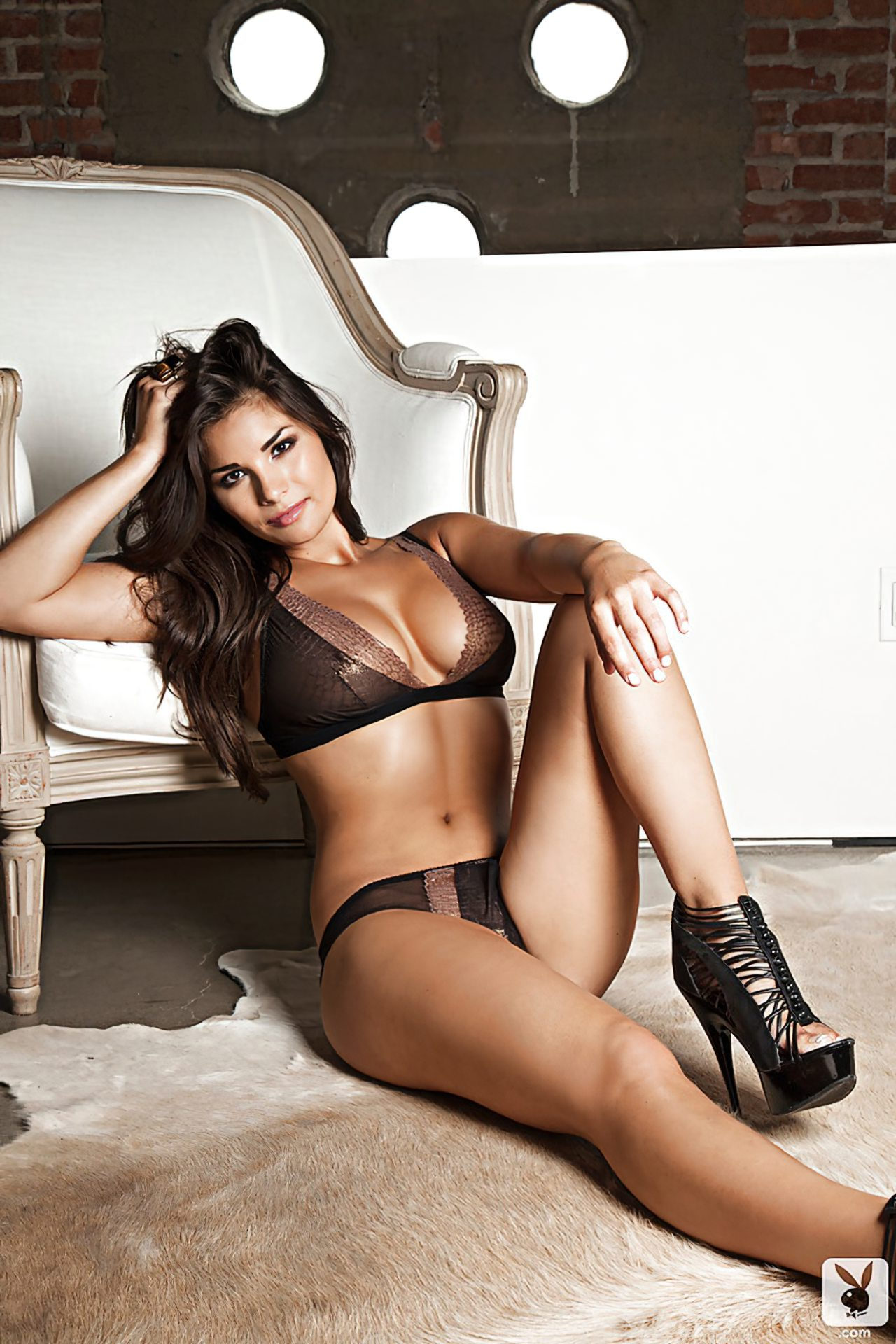 Anna Andelise Sexy Playboy (2)