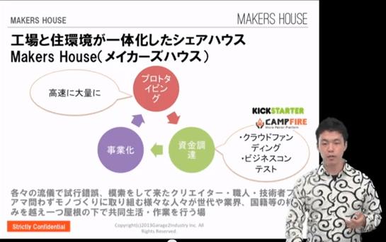 ビジコン2013~未来を変えるプレゼンバトル~エントリーNO6(新時代のもの作りシェアハウス)