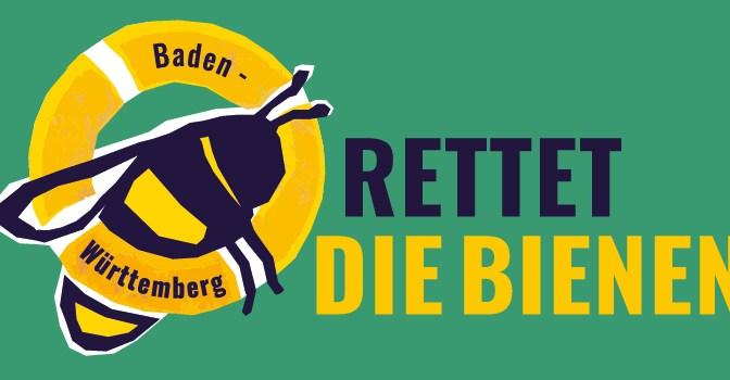 """Volksbegehren Artenschutz -""""Rettet die Bienen"""""""