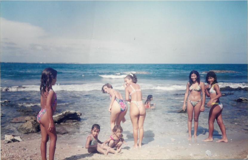 beach double pic