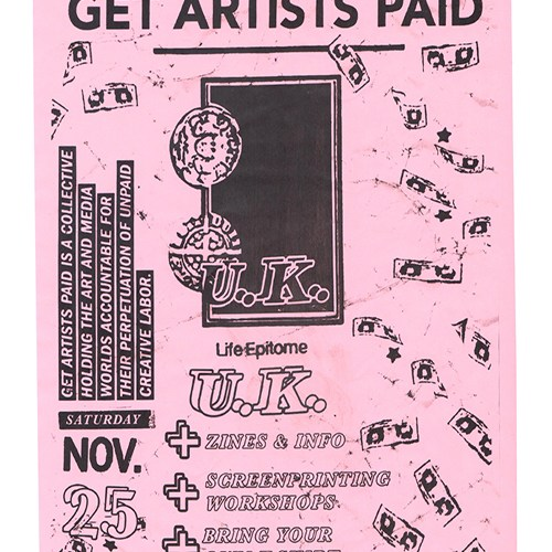 GAP get artists paid