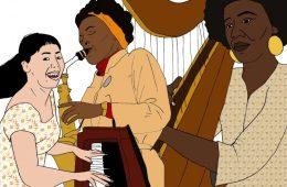 woc in jazz by Parys Gardener