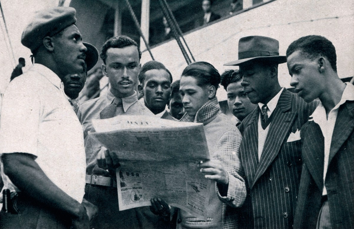 1948 Jamaicans on board the Empire Windrush copyright Illustrated London News LtdMary Evans
