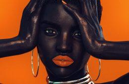 Cameron J Wilson - digital model Shudu model in Fenty Beauty