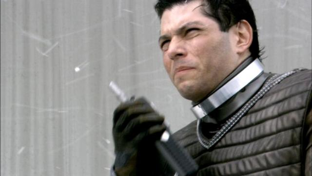 Nico Cortez as a young William Adama in the Razor flashbacks.