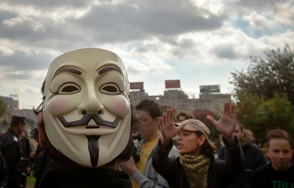 Occupy Bucharest, Romania