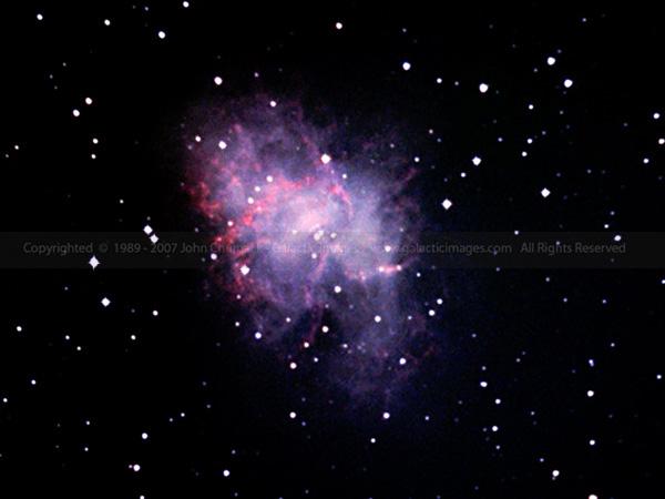 M1 The Crab Nebula photo - A Pulsar & Supernova Remnant in ...