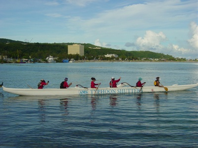Imua Women head to the starting line