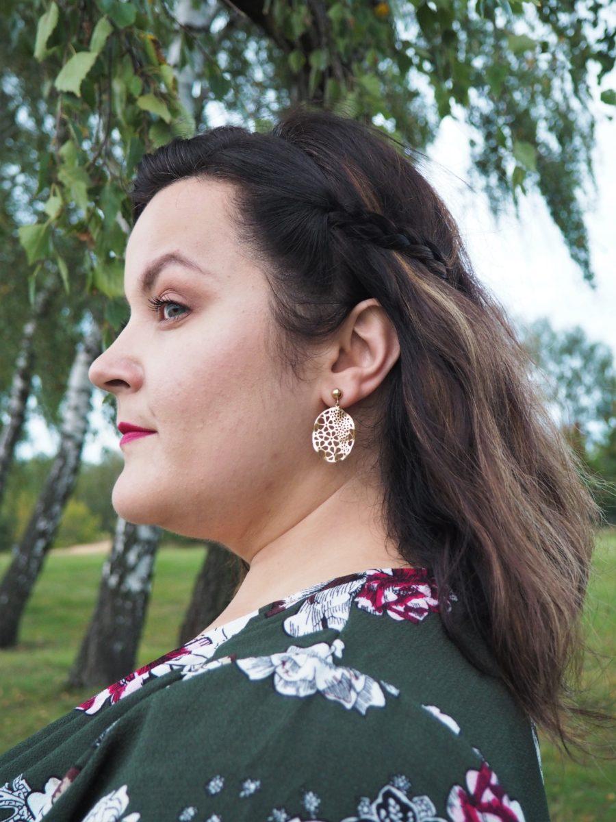 moda plus size - kolczyki Artelioni