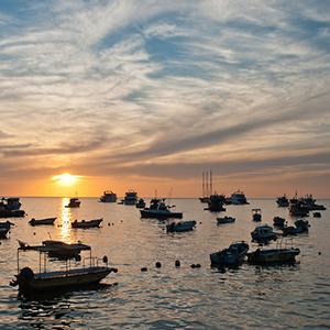 boats at port