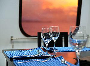Galapagos Cruises - food onboard
