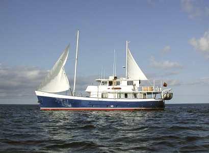 Galapagos Kreuzfahrt Yacht Samba