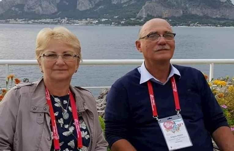 Eugen Rusu and Cecilia Rusu profesori UGAL