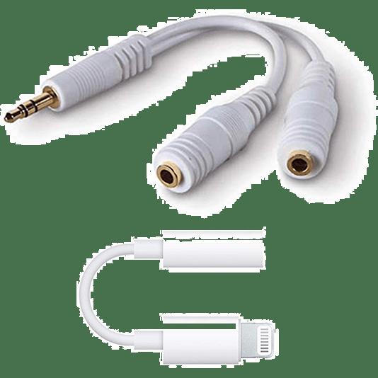 Headphone Splitter & iPhone Adapter