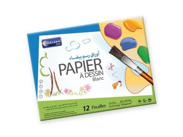 Papier dessin blanc