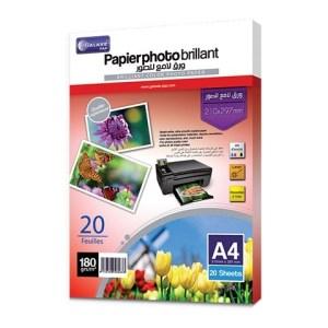Papier photo brillant 180g A4