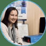 Odile, responsable marketing et office manager