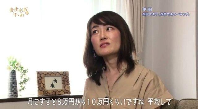 月の収益は8万円~10万円