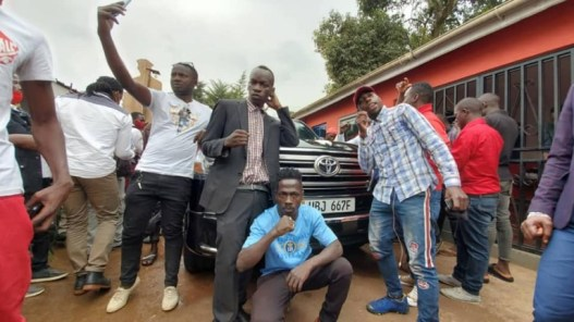 The car wash happened at NUP offices